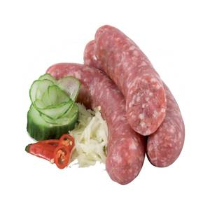 Medium frische bratwurst